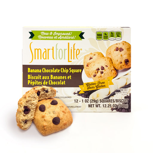 Gluten-Free Banana Chocolate Chip - Individually Wrapped Cookies