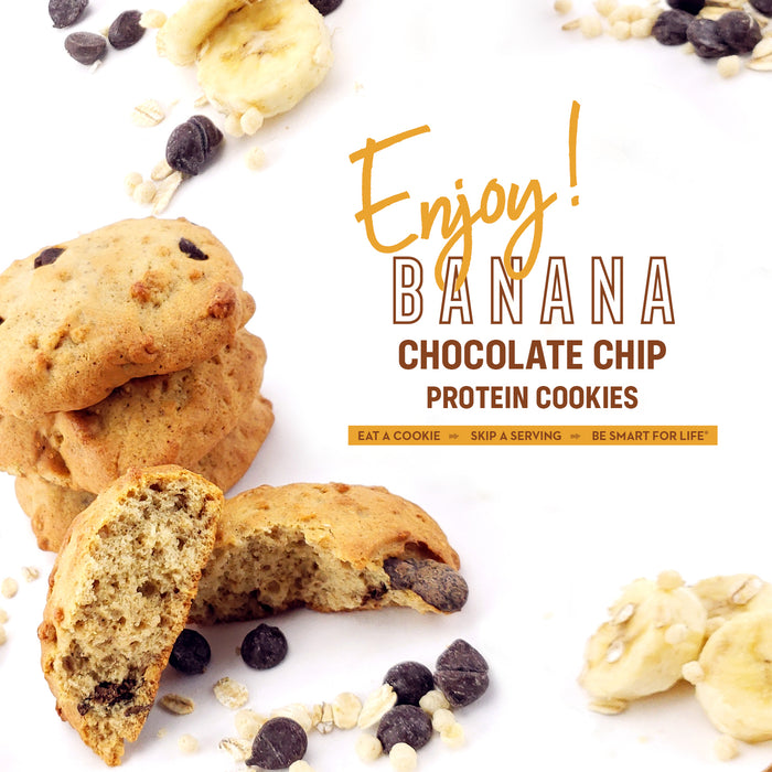 Gluten-Free Banana Chocolate Chip Cookies 12 Ct