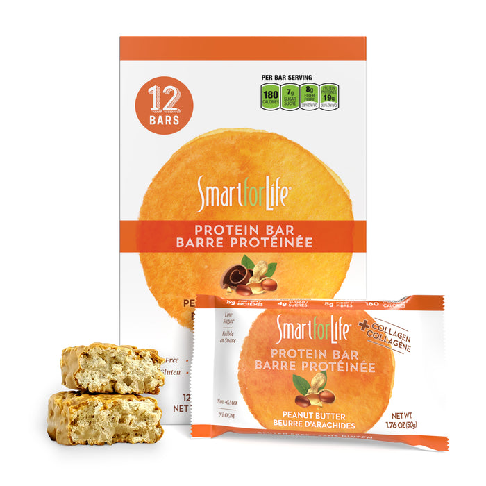 Low Sugar Peanut Butter Protein Bars 12 Ct