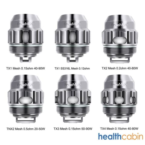 Freemax Twister Replacement X/TX Mesh Coil Head Series