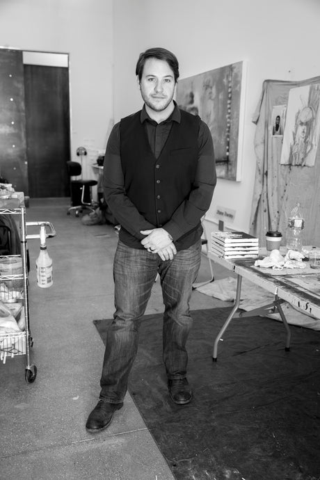 Learn about the rising Star Contemporary Artist Shane Townley
