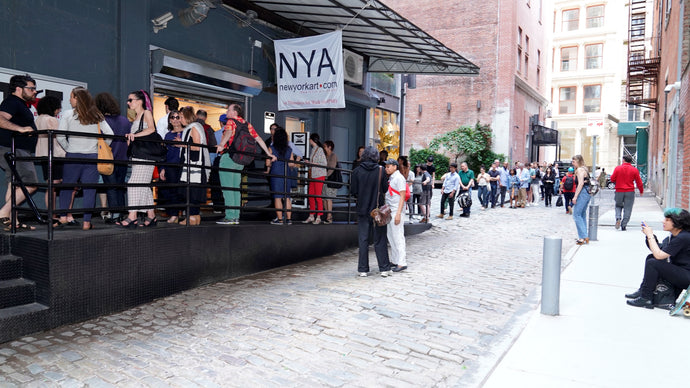 TriBeCa, the New Art Stroll, With the decline of retail, storefronts in the Triangle Below Canal Street are filling with galleries — it's New York City's most unlikely new art scene.