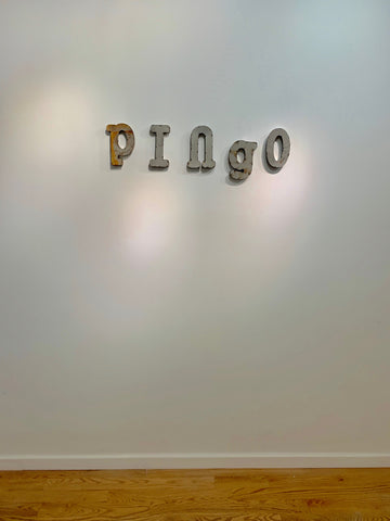 Installation View of PINGO, NYA Gallery