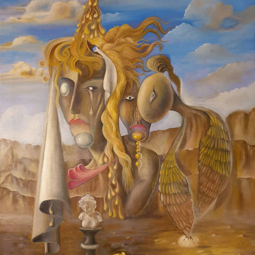 Hebes Dream by Magnus Strömberg, Oil on Canvas