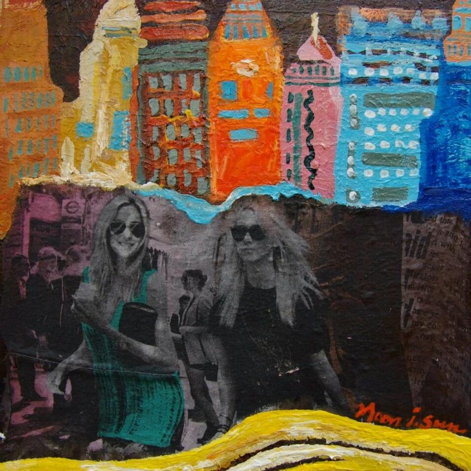 In New York 2 by Blue Jung-Sun Moon, Mixed Media