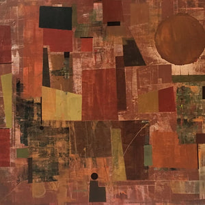 Quiet Autumn by Oguz Yalim, Mixed Media on Canvas