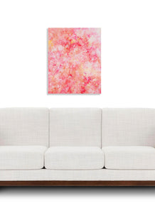 Rose Crystal By Tina Koresis, Acrylic On Canvas