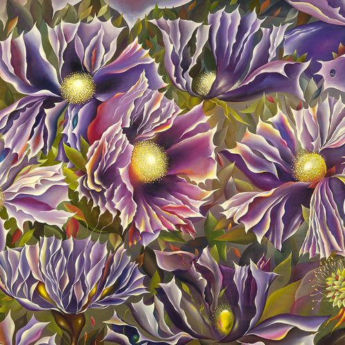 Lilac by Tatiyana Kraevskaya, Oil on Canvas