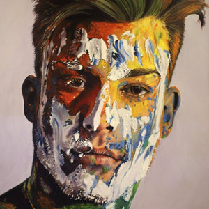 Carlos by Juan Carlos Mompó, Oil on Canvas