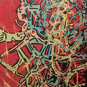 Untitled 7 by Rashed Al-Alban, Mixed Media