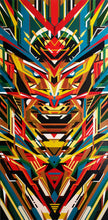 TOTEM by Ruvell Saylon, Acrylic on Canvas