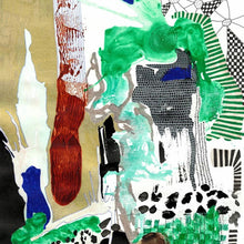 Rorschach 2 by Ellen Claes, Mixed Media on Paper