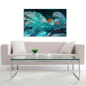 """Sea Fever"" By Sundus Syed, Acrylic on Canvas"