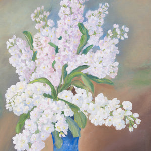 """Gillyflower"" by Jolanta Gradus, Oil on Canvas"