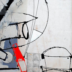 Cavi by Marcello Scarselli, Mixed Media on Canvas
