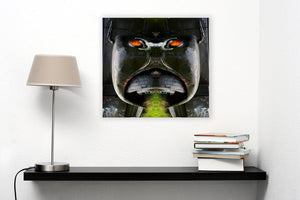 Gorilla Truck / Scania by Arne Søvik Larsen, Photography Print on Canvas