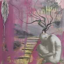 Connection by Kasia Korus, Mixed Media on Canvas