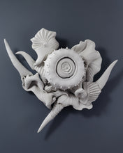 """Wall Piece No. 25"" By Charles Birnbaum, Porcelain"