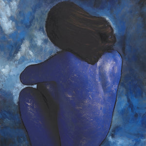 Blue Nude by Michael Francis, Archival Quality Fine Art Print