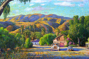 Camulos Ranch by Wayne Weberbauer, Oil and Acrylic on Canvas