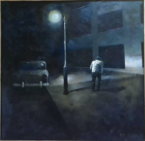A Long Day by Fred DiVito, Acrylic on Canvas