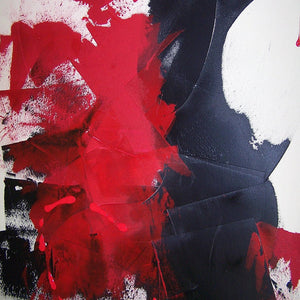 Red Black I by Donna Bernstein, Acrylic on Canvas