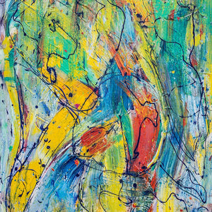 Life's a Dance by Alan Taback, Acrylic on Canvas
