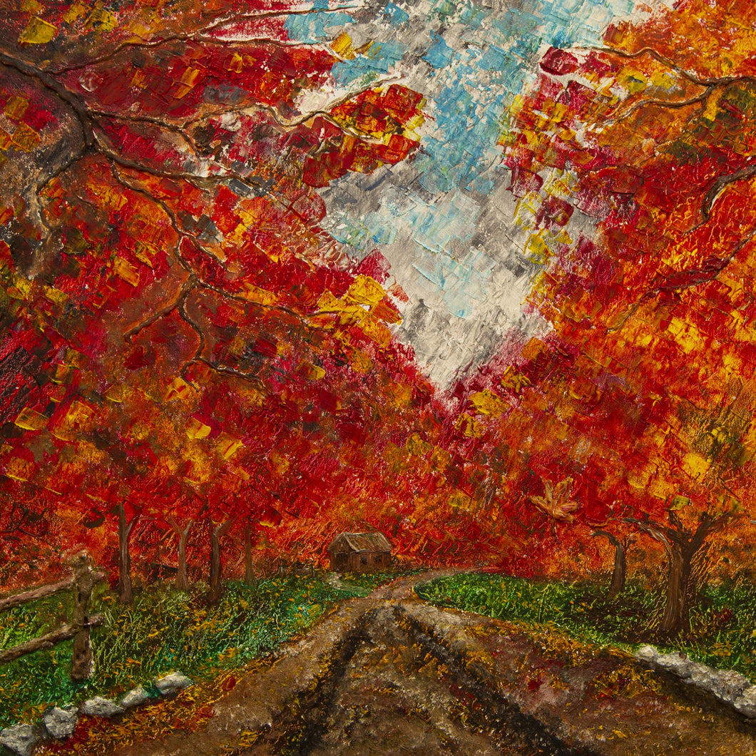 Fall Colors by Jason Boomgarden, Oil on Canvas
