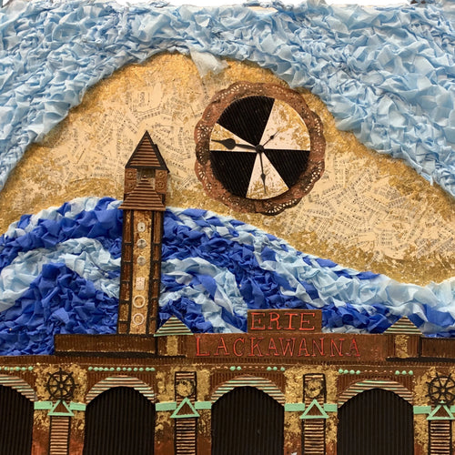 Hoboken by Chesleigh Meade, Mixed Media