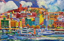 Ibiza by Aurelio D. Santos, Oil on Canvas