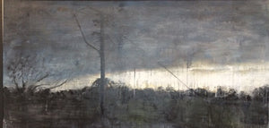 """Landscape 1"" by Daniel Butterworth, House Acrylics on Board"