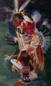 Dancing by Paola Diaz Siva, Oil on Canvas