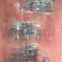 Pink Sky By Cecilie Kolderup, Acrylic On Canvas