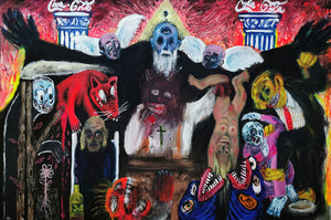The Final Judgement by Jordi Llagostera Roig, Mixed Media on Canvas