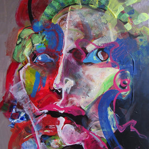 Medusa by Rastko Vidovic, Acrylic on Canvas
