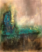 Golden Fairytale by Hilde Vaadal, Acrylic and Mixed Media on Canvas