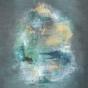 Deep Sea By Cecilie Kolderup, Acrylic on Canvas