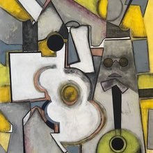 Musicians 1 by Edward Berkise, Oil on Canvas