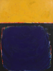 Yellow and Blue by Blair Vina, Acrylic on Canvas