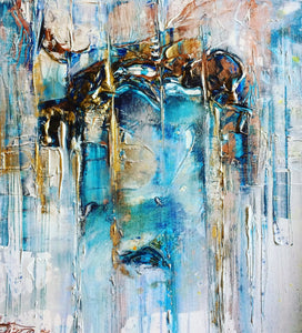 Silent Tears Scream By Andrea Ehret, Acrylic On Canvas