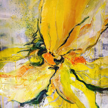 Yellow Power By Andrea Ehret, Acrylic On Canvas