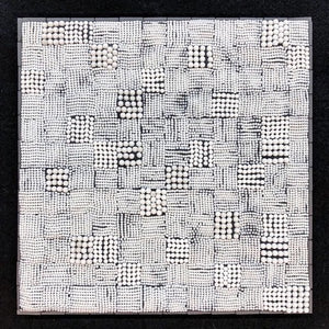 """Warp & Weft"" by Susan Wechsler, Mixed Media Mosaics"