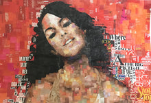 AALIYAH by Whitney Anderson, Hand-Cutout Collage