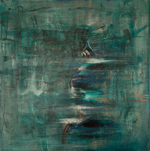 Release III by Lisa Izquierdo, Mixed Media on Canvas