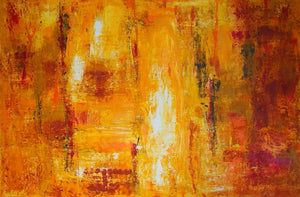 Incandescence #1 by Neelum Nand, Mixed Media on Canvas