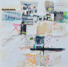 Intersections/Interventions No 17 by John Alan Stock, Mixed Media on Canvas