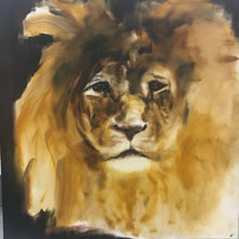Let Me Play the Lion Too by Jana M. Sico, Oil on Canvas