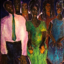 The Altar Call by Jerome Wright, Mixed Media on Canvas