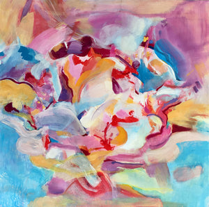 Fantasia by Lynn Letourneau, Acrylic on Canvas