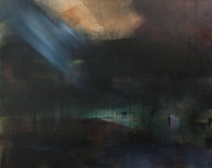 """Light Beyond #6"" By Cate McMullin, Acrylic on Canvas"